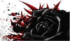 bleeding rose tattoos