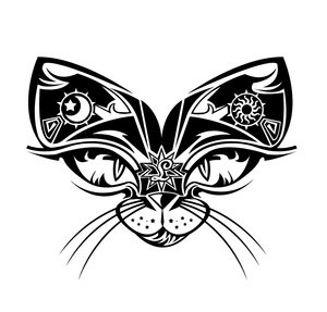 Cat eye tattoos for lower back libra tattoos photos designs for Cat eyes tattoo designs