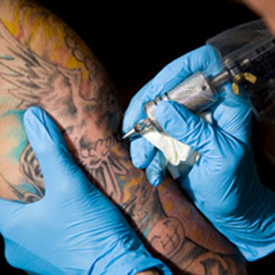 Carolina panthers tattoos for How bad does getting a tattoo hurt
