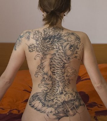 Reusable Body Tattoos for Lower Back.