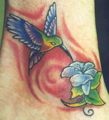 hummingbird tattoo photos submitted to RankMyTattoos …